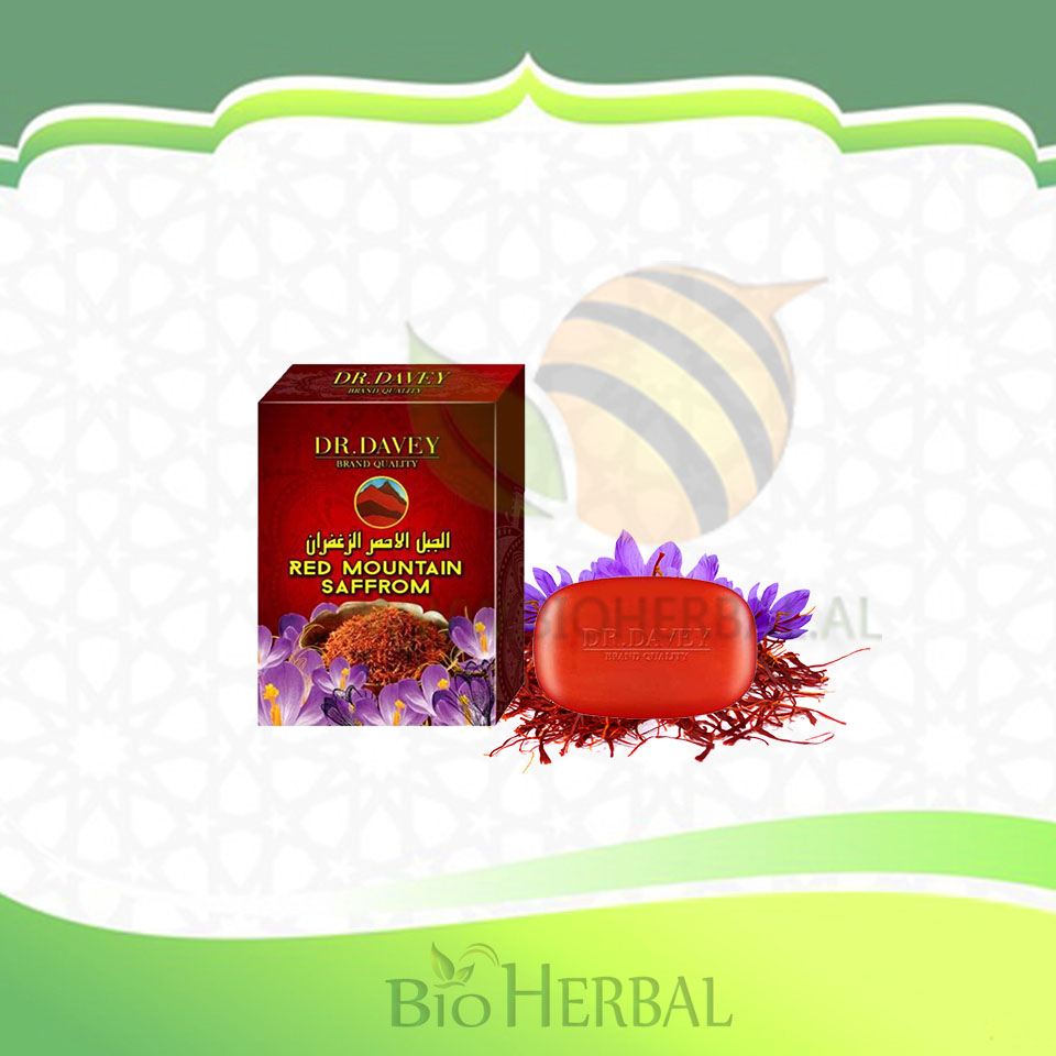 Sapun me Shafran të Kuq - Red Mountain Saffron Whitening Soap